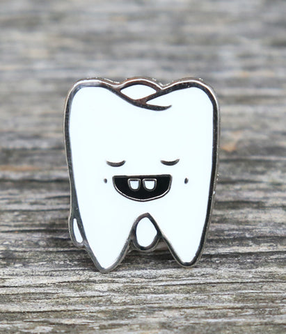 The Tooth Is Out There Lapel Pin