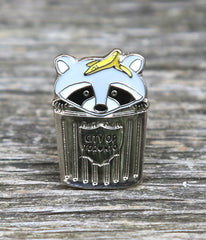 Trash Panda Lapel Pin