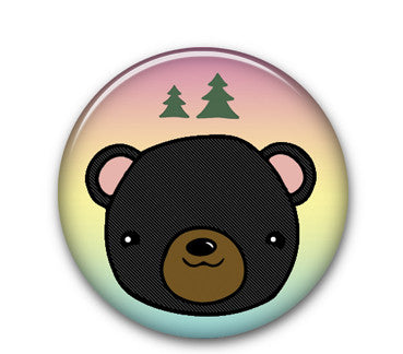 "Bear 1.25"" button"