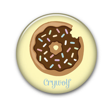 "Donut 1.25"" button"