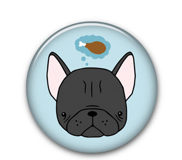 "Frenchie 1.25"" button"