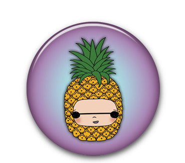 "Pineapple 1.25"" button"
