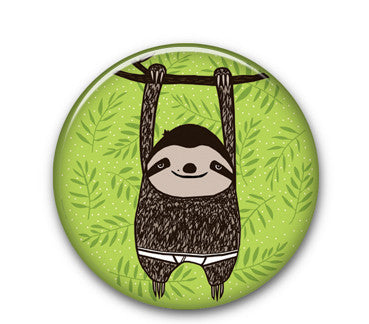 "Slothy 1.25"" button"