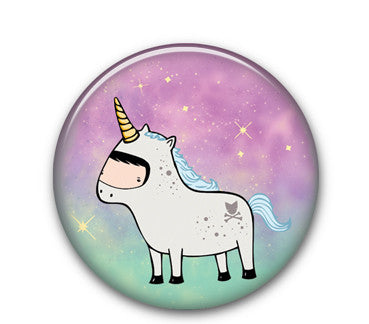 "Unicorn cw 1.25"" button"