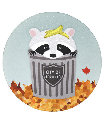 Toronto Raccoon Mousepad
