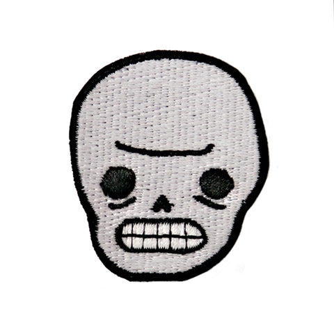 Awkward Skull Patch