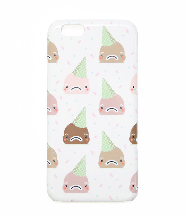 Sad Ice Cream Iphone Case