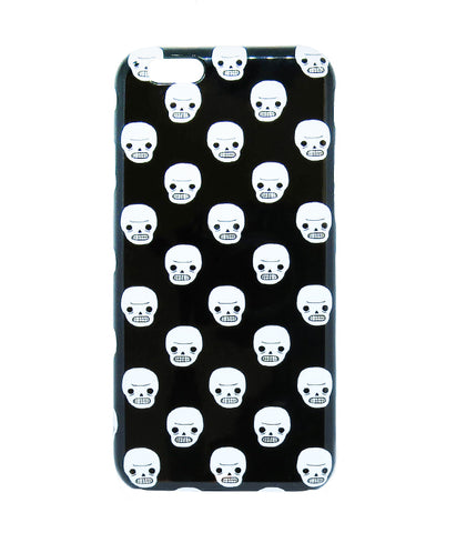Awkward Skull Iphone Case