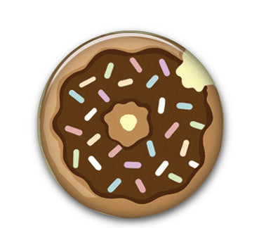 "Donut 1"" button"