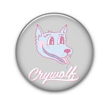 "Teen Wolf Pink 1"" button"