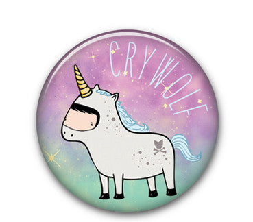 "Unicorn CW 1"" button"
