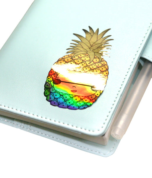 Holo Pineapple Sticker