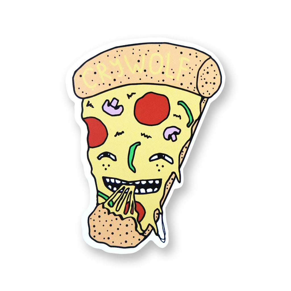 Pizza Party Sticker