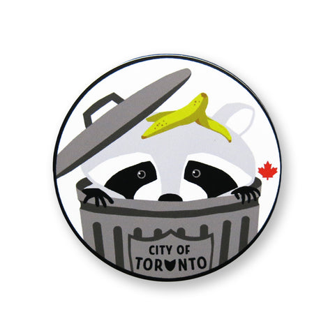 Toronto Raccoon Sticker