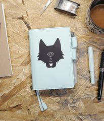 Wolf Head Sticker