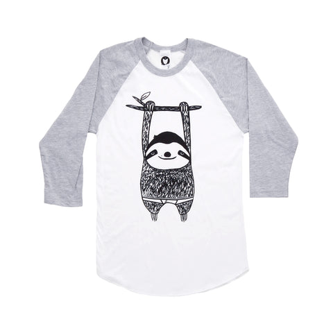 BB Sloth Baseball Tee