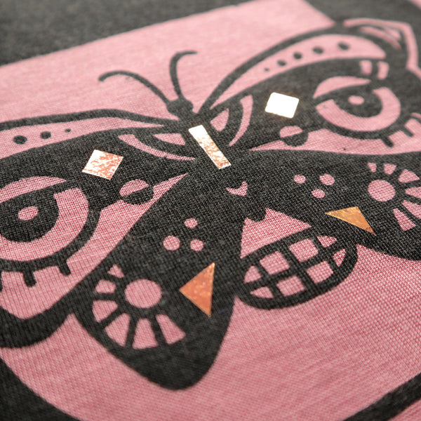 Butterfly Girl Vanessa Muscle Tee