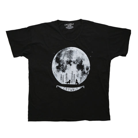 Howling Moon Oversized Tee