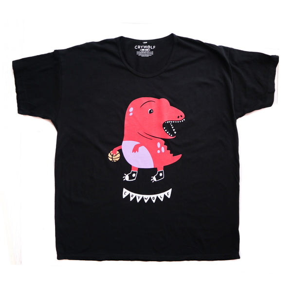 Clumsy Raptor Oversized Tee