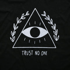 Trust No One Oversized Tee