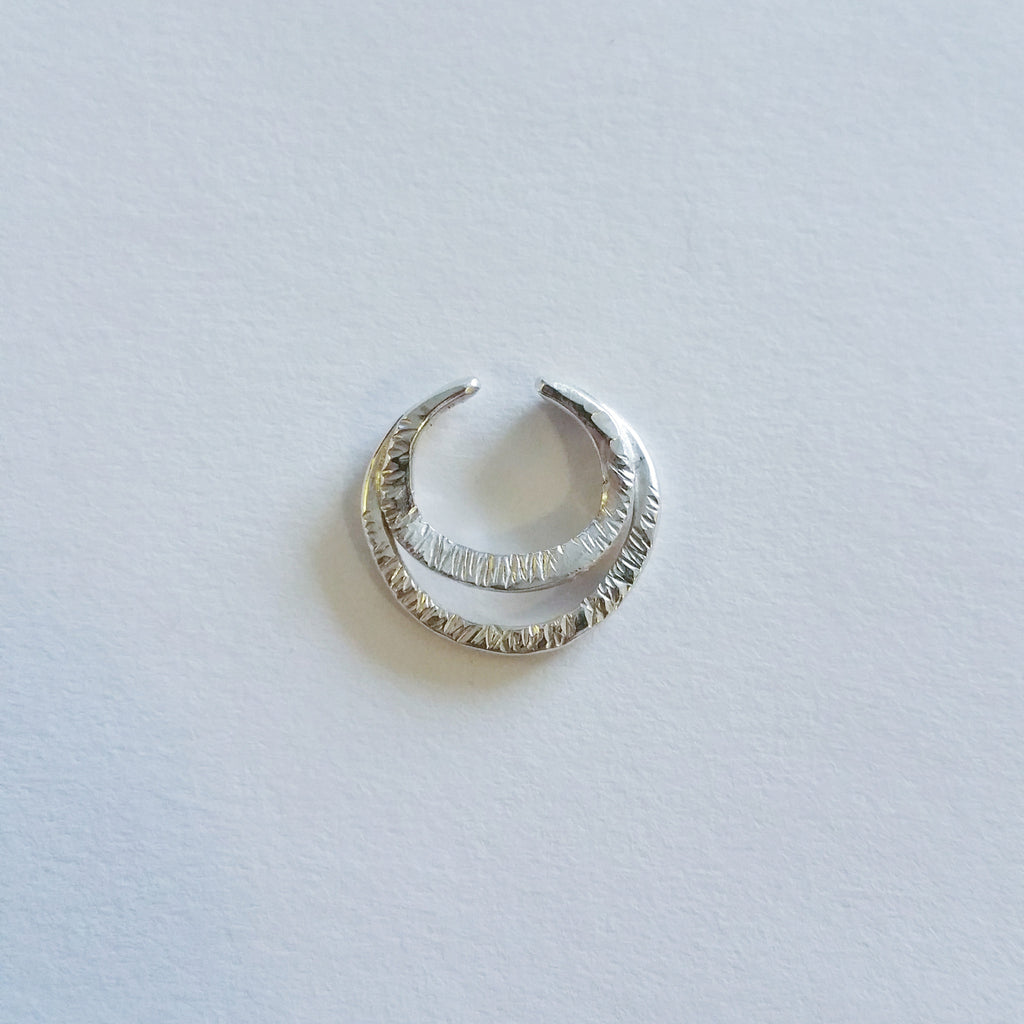 CRESCENT SEPTUM RINGS - WOLF + SADIE
