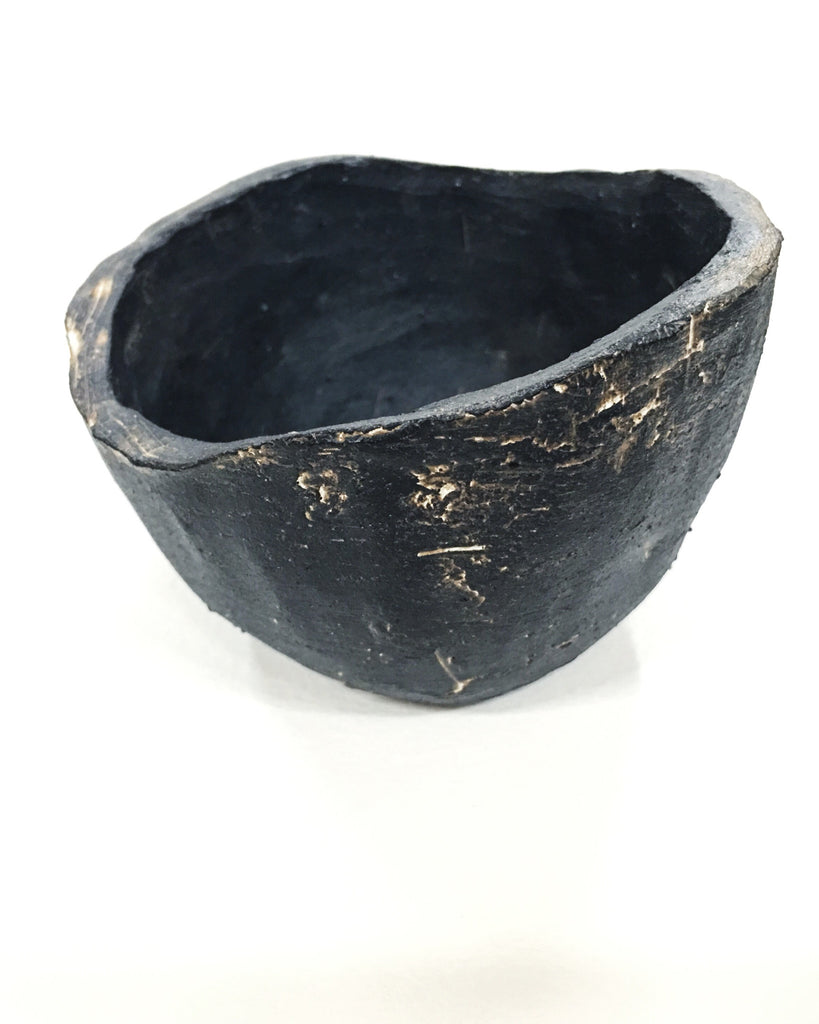 MATTE BLACK SMALL BOWL - WOLF + SADIE