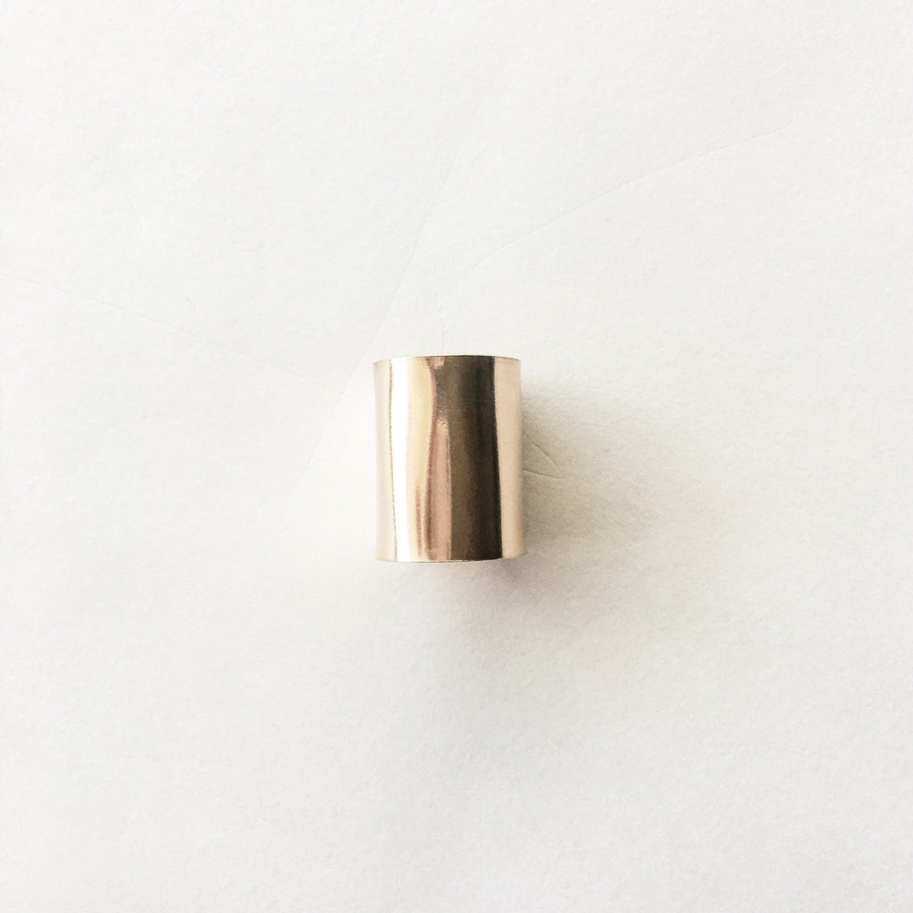 LUPINE CUFF RING - Rose Gold - WOLF + SADIE