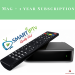 Smartiptv IPTV BOX + 1 year subscription