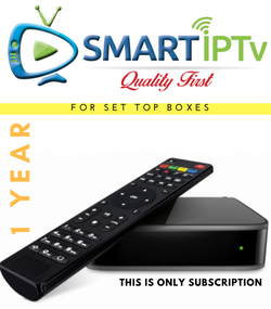Smartiptv Subscription for Iptv Box