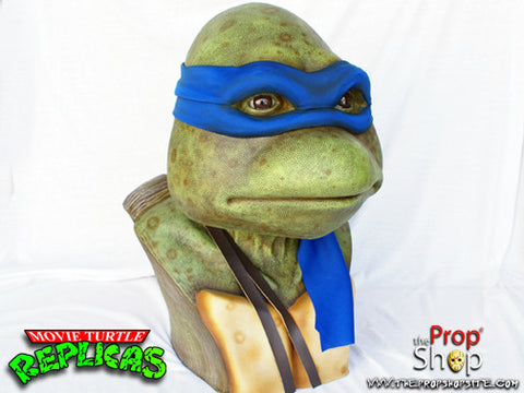 Blue Movie Turtle Display Bust