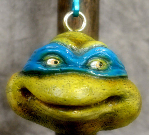 Blue Movie Turtle Key Chain