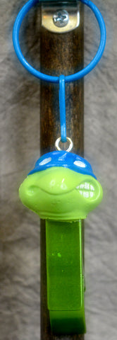 Blue Turtle Bottle Opener Key Chain