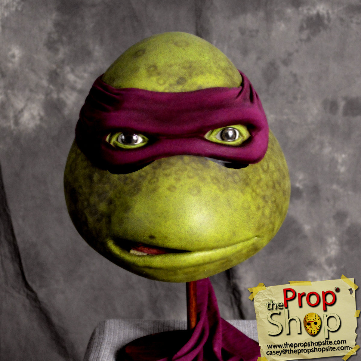 Elite Purple Movie Turtle Mask & The Prop Shop Costumes and More! | The Prop Shop