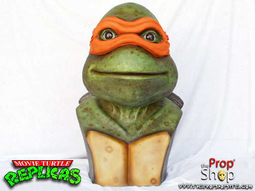 Orange Movie Turtle Display Bust