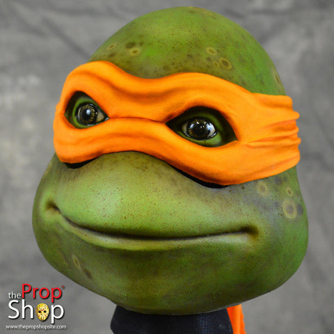 Orange Movie Turtle Mask