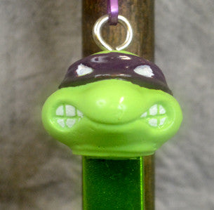 Purple Turtle Bottle Opener Key Chain