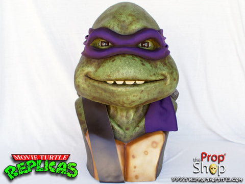 Purple Movie Turtle Display Bust