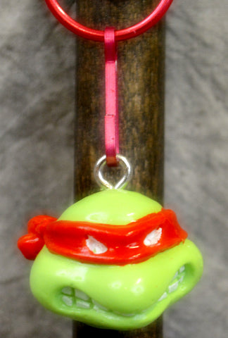 Red Cartoon Turtle Key Chain