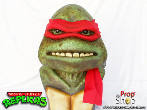 Red Movie Turtle Display Bust