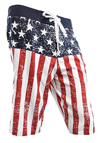 Star Spangled Board Shorts