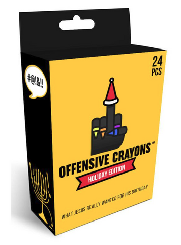 Offensive Crayons- Holiday