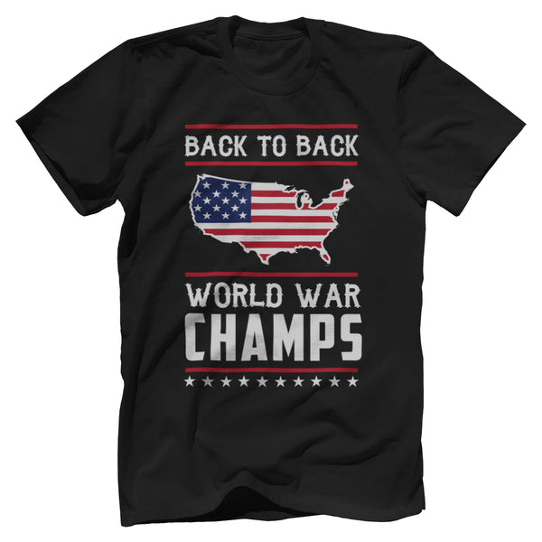 Back-To-Back World War Champs!