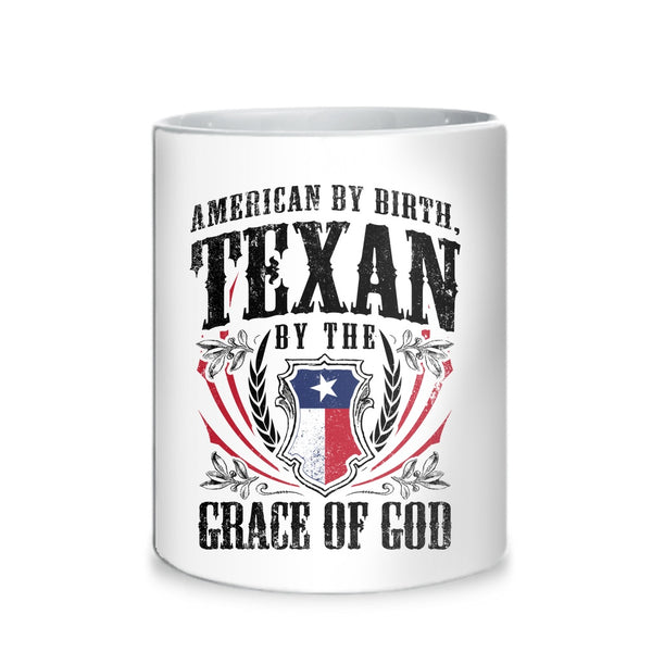 Texan By The Grace of God Mug
