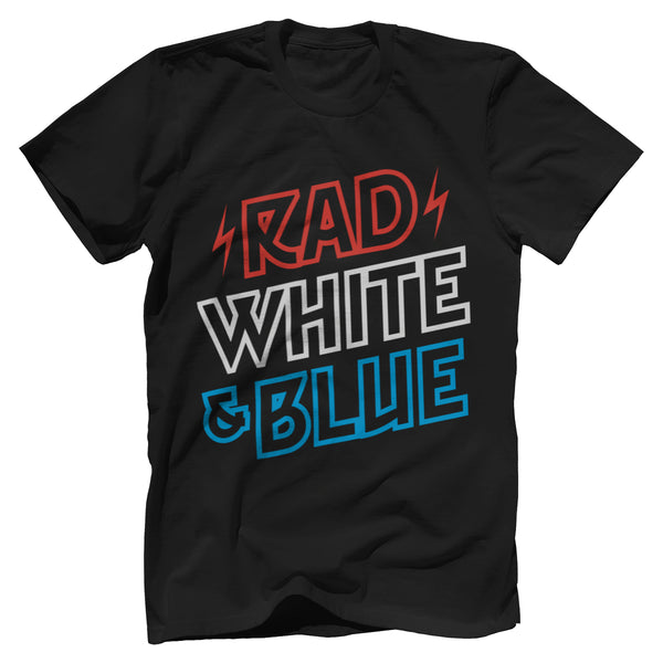 Rad White & Blue