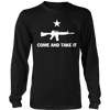Come and Take It- AR 15 white