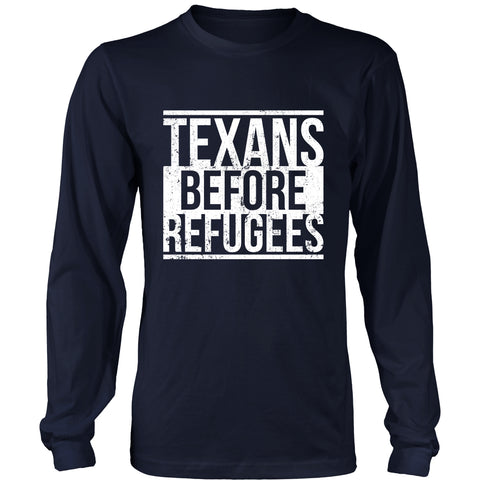 Texans Before Refugees
