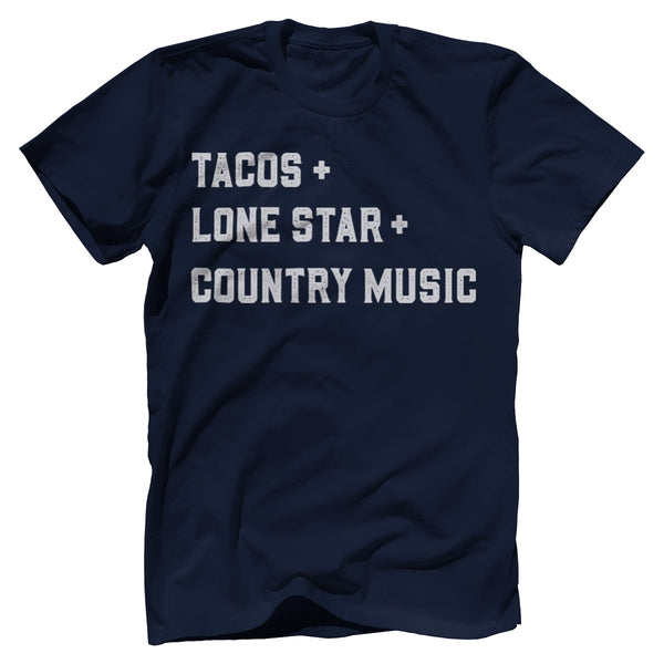 Tacos, Lone Star, Country Music