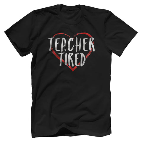 Teacher Tired