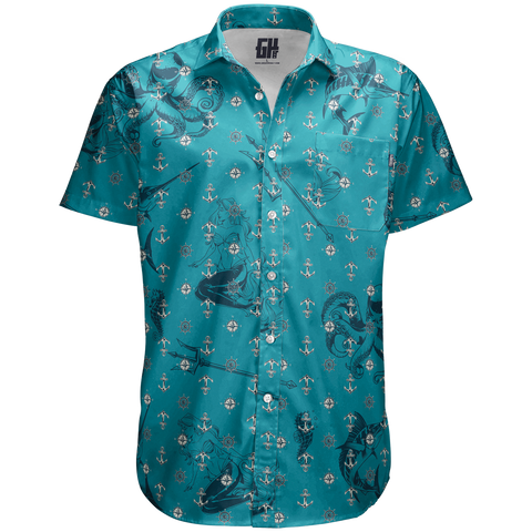 Poseidon Button Down