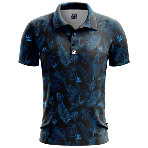 Flower Golf Polo